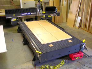Nelson's Cabinets' CNC Machine