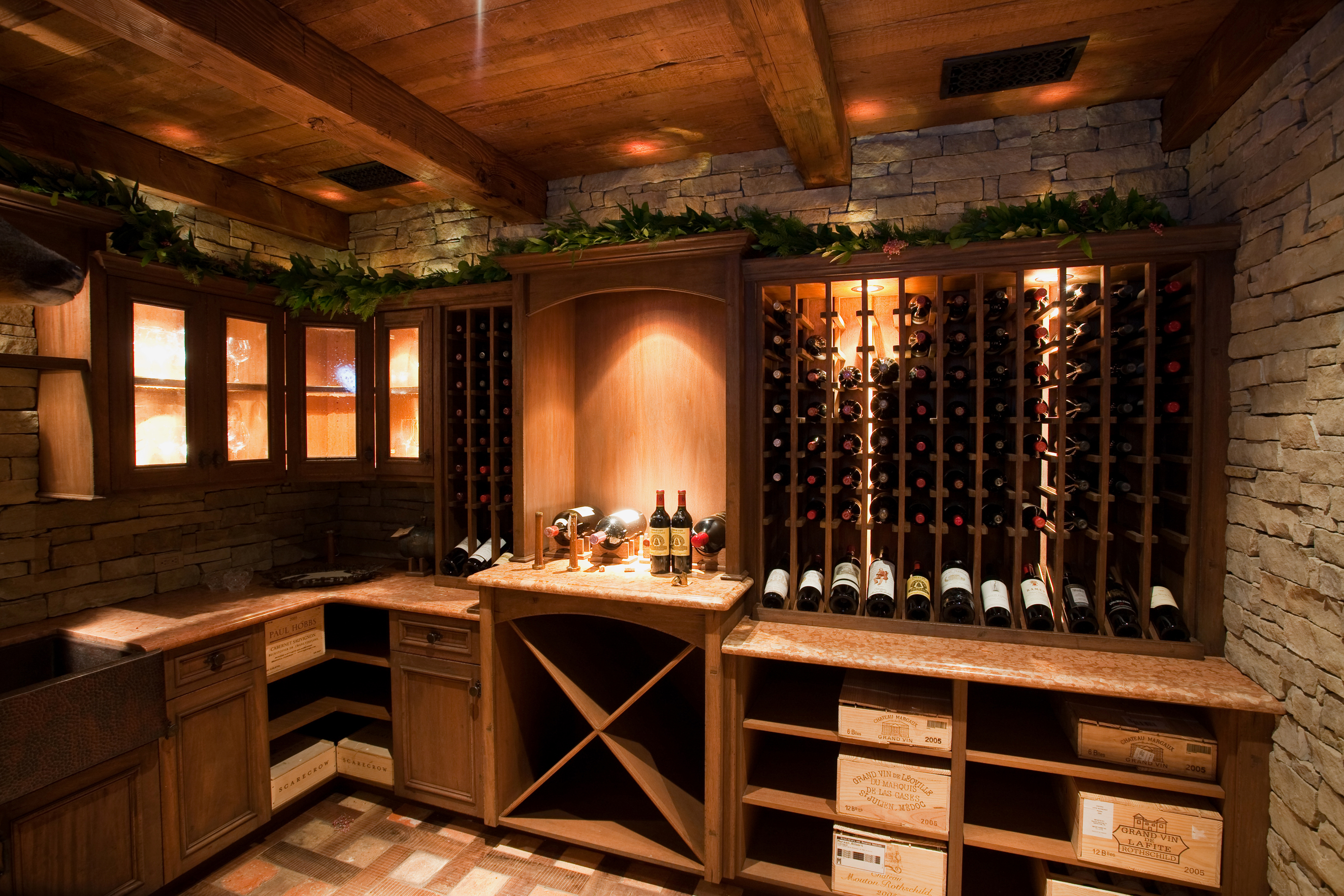 Specialty Cabinets And Millwork. Wine Room